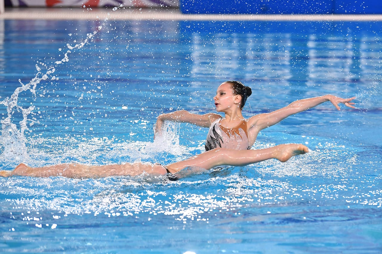 Международные соревнования по синхронному плаванию » Русская матрёшка»